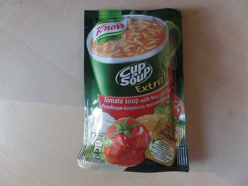 """#677: Knorr """"Cup a Soup Extra!"""" Tomato Soup with Mozzarella"""