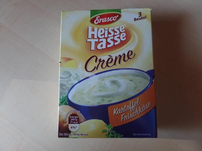 """#678: Erasco Heisse Tasse """"Creme Kartoffel Frischkäse"""""""