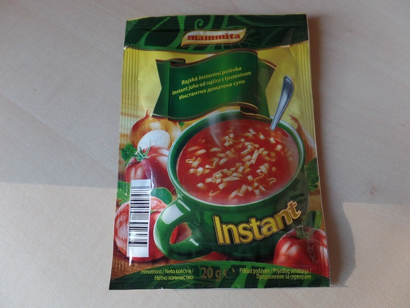 """#679: mammita """"Instant juha od rajčice s tjesteninom"""""""