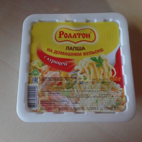 """#682: Rollton """"Instantnudelgericht mit Hühnerfleischgeschmack"""""""
