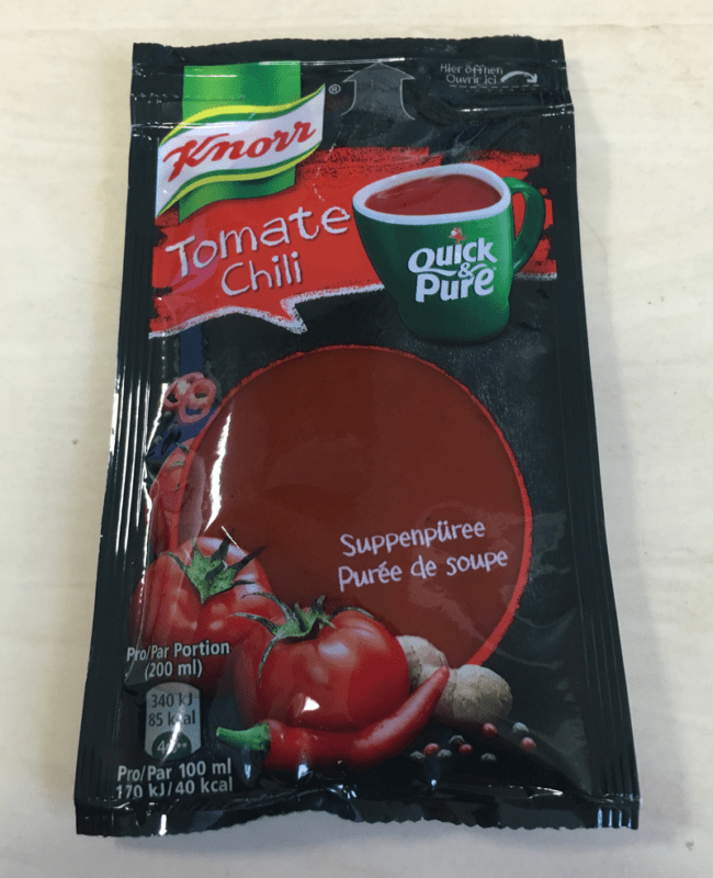 """#647: Knorr Quick & Pure """"Tomate Chili"""""""