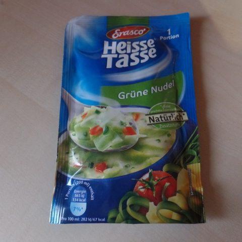 "#694: Erasco Heisse Tasse ""Grüne Nudel"""