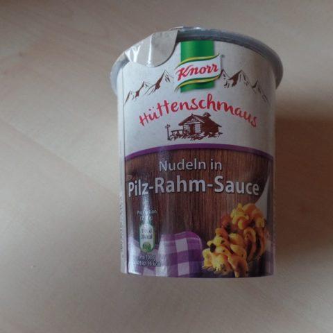 "#695: Knorr Hüttenschmaus ""Nudeln in Pilz-Rahm-Sauce"""