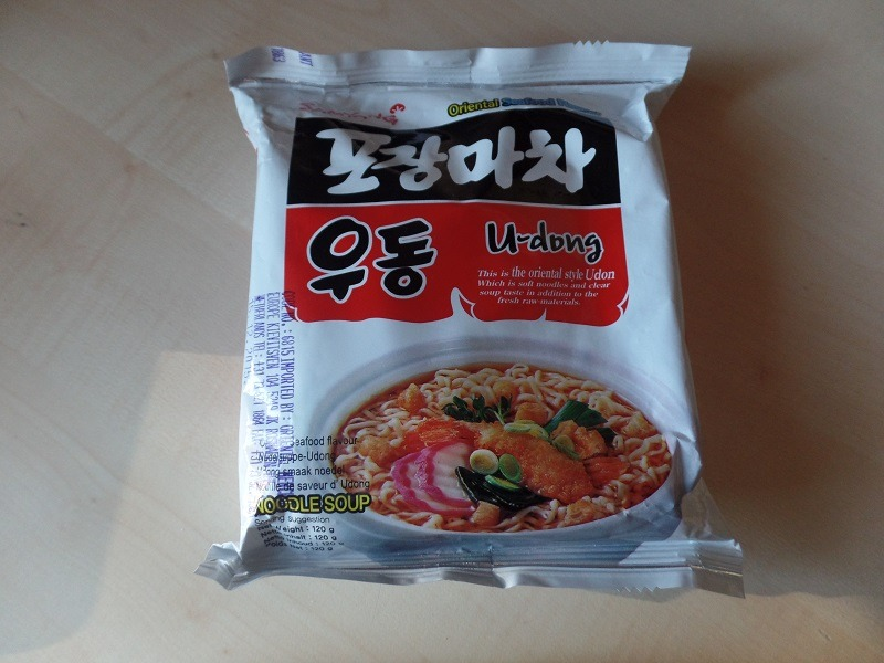 "#700: Samyang ""U-dong"" (Oriental Seafood Flavour)"