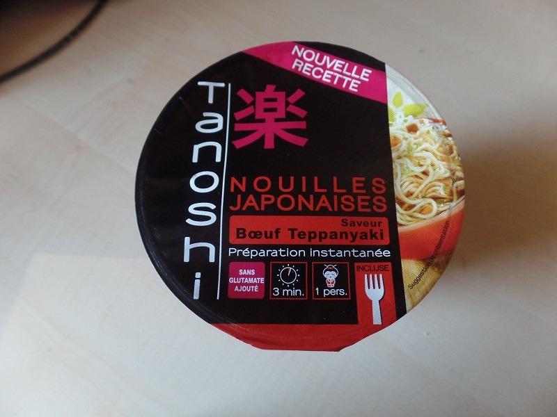 "#705: Tanoshi Nouilles Japonaises ""Saveur Bœuf Teppanyaki"""