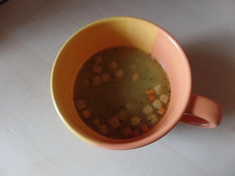 """#711: Erasco Heisse Tasse """"Kartoffel-Creme"""""""