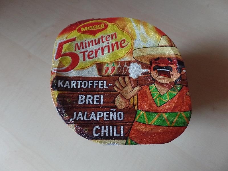 "#713: Maggi 5 Minuten Terrine ""Kartoffelbrei Jalapeño Chili"""