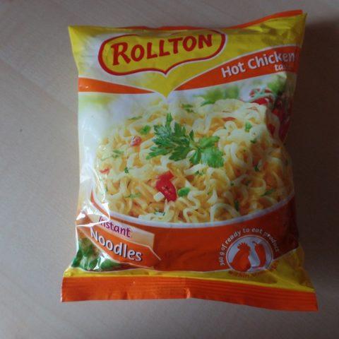 "#714: Rollton Instant Noodles ""Hot Chicken Taste"""