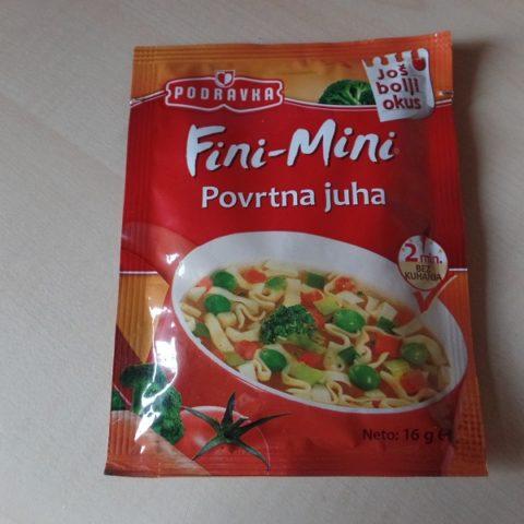 """#715: Podravka Fini-Mini """"Povrtna Juha"""""""