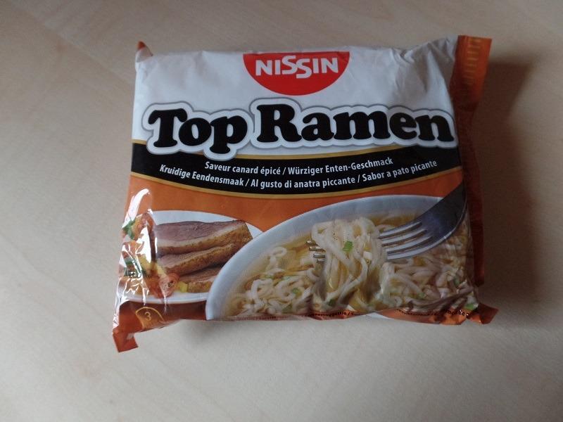 "#719: Nissin Top Ramen ""Würziger Enten-Geschmack"""