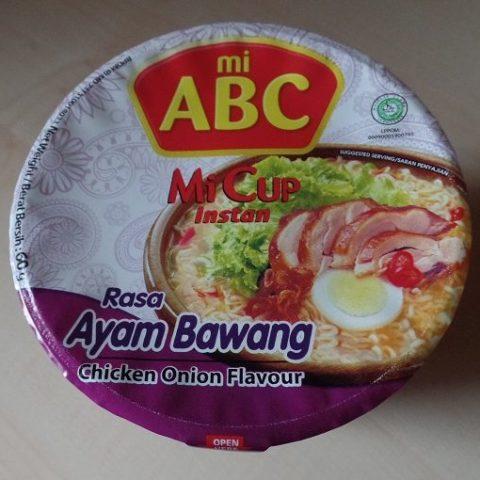 "#722: mi ABC ""Rasa Ayam Bawang"" (Chicken Onion Flavour) Mi Cup Instan"