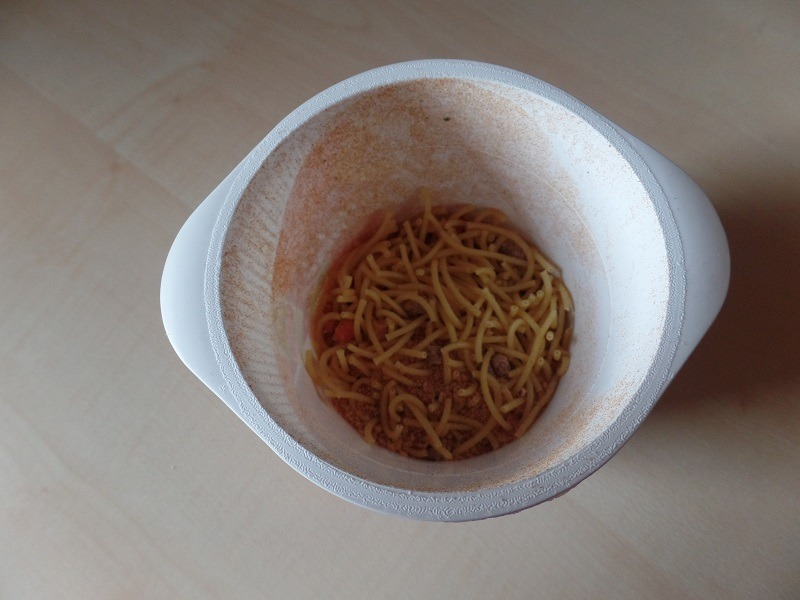 "#731: Maggi 5 Minuten Terrine ""Spaghetti Bolognese"""