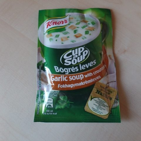 "#733: Knorr Cup a Soup ""Garlic Soup with Croutons"""