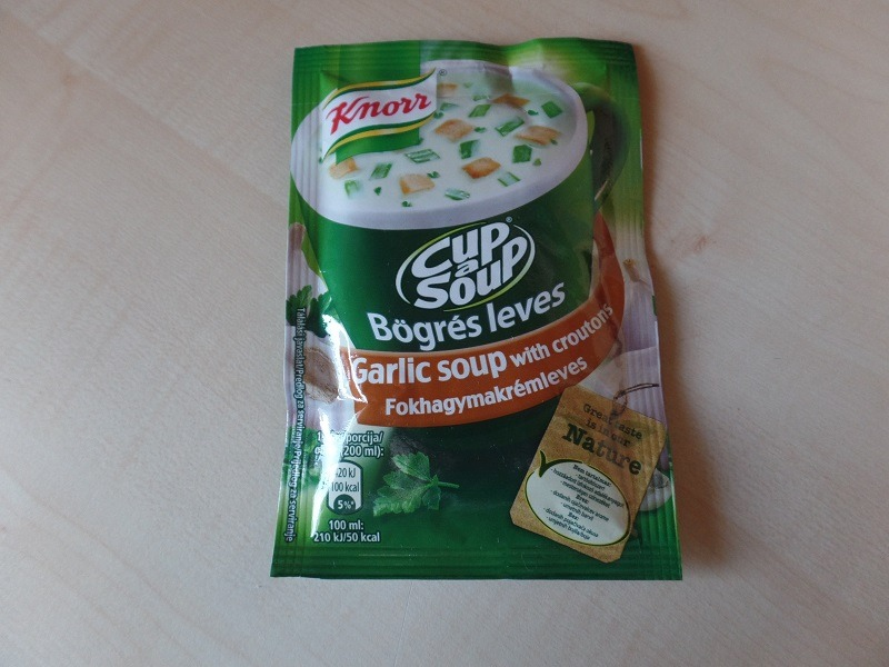"""#733: Knorr Cup a Soup """"Garlic Soup with Croutons"""""""
