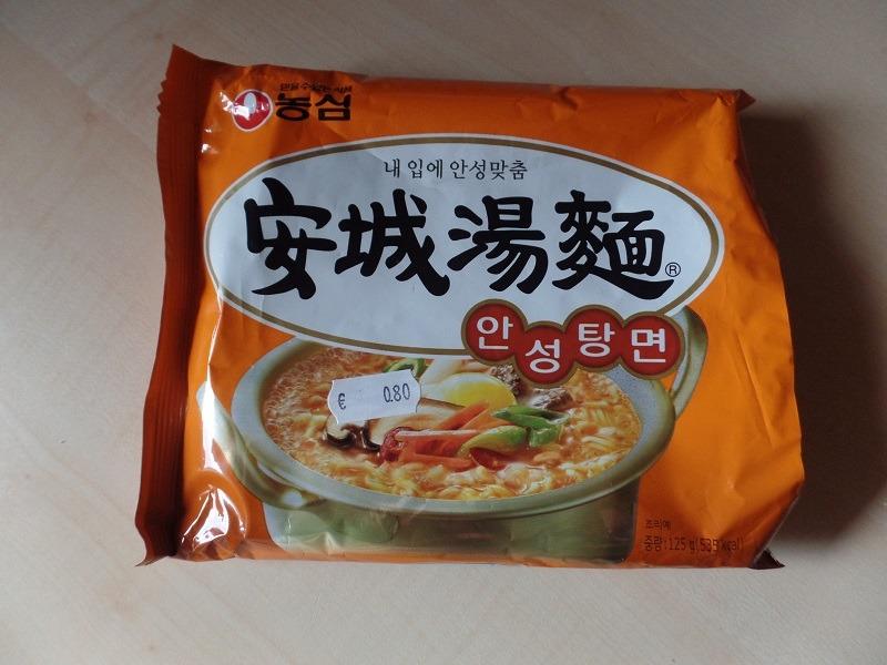 "#084: Nongshim ""AnSungTangMyun"" Ramyun Hot & Spicy"