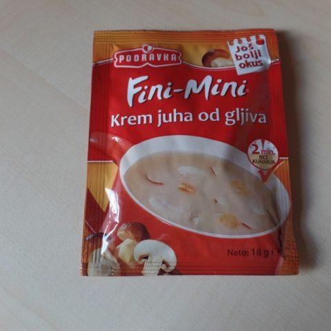 """#737: Podravka Fini-Mini """"Krem juha od gljiva"""""""