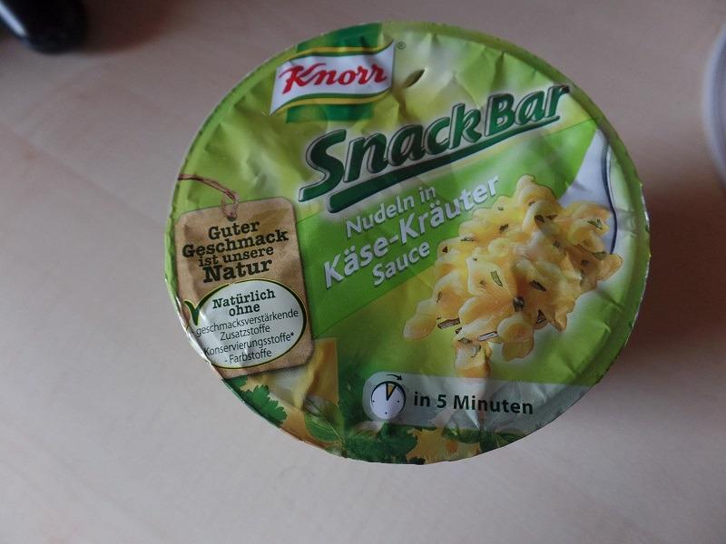 "#739: Knorr Snack Bar ""Nudeln in Käse-Kräuter Sauce"""