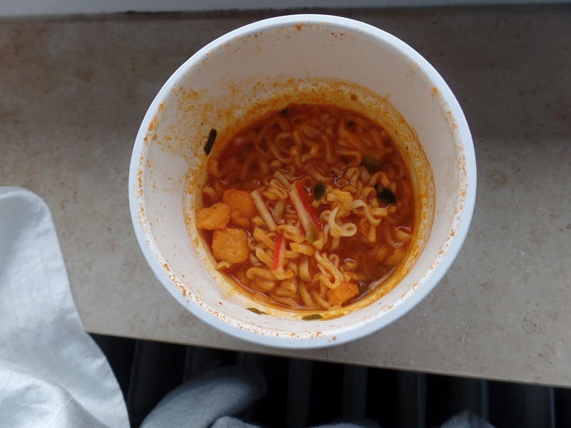 """#740: YumYum """"Instant Cup Noodles"""" Suki Seafood Flavour"""
