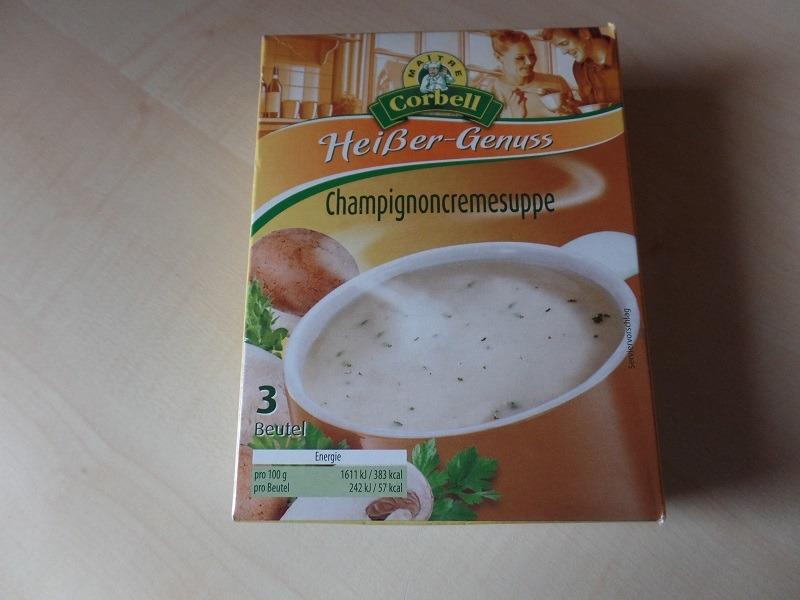 "#741: Maitre Corbell ""Heißer-Genuss"" Champignoncremesuppe"