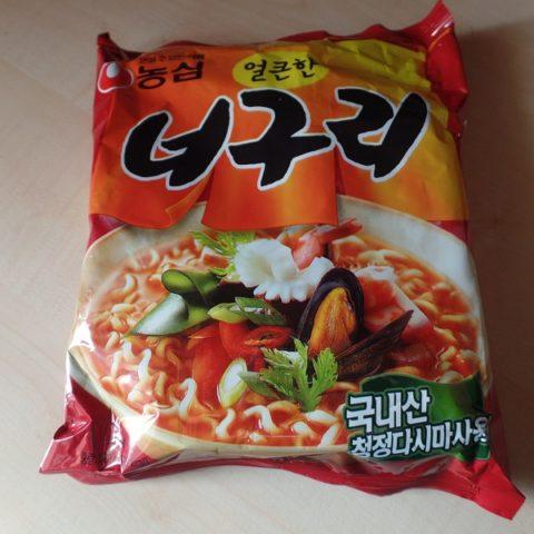 """#743: Nongshim Neoguri Ramyun """"Seafood & Spicy"""" (Koreanische Version)"""