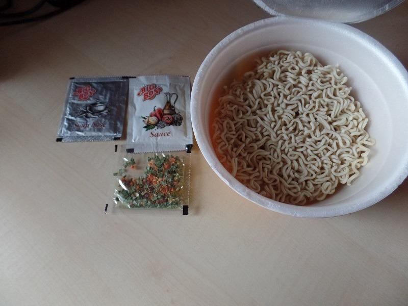 "#746: Big Bon Instant Noodles ""Mushrooms + Sauce Cheese"" Cup"