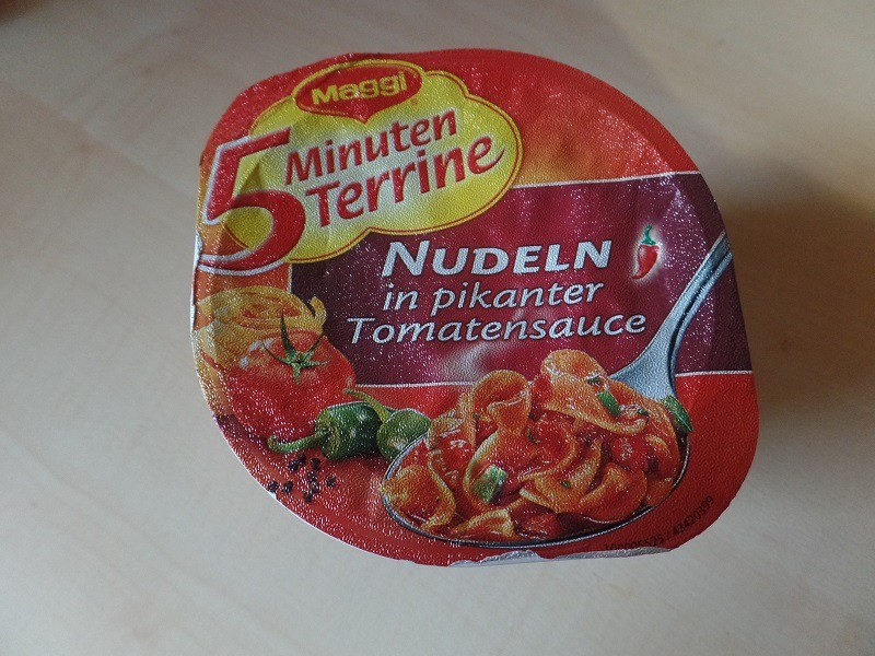 """#756: Maggi 5 Minuten Terrine """"Nudeln in pikanter Tomatensauce"""""""