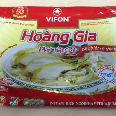 """#727: Vifon """"Hoàng Gia Phở Thịt Gà ĂN LIỀN"""""""