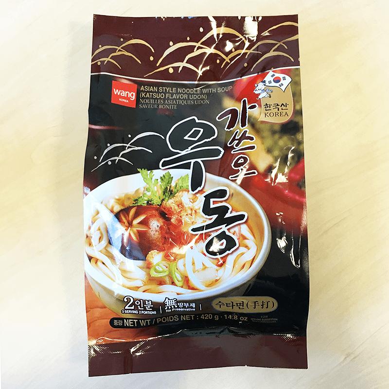 "#754: Wang ""Katsuo Flavor Udon"""