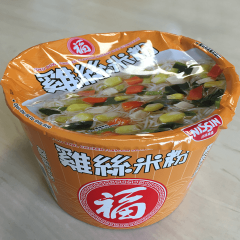 """#760: Nissin """"Fuku Bowl Chicken Flavour Instant Rice Vermicelli"""""""