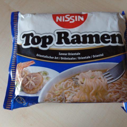 """#757: Nissin """"Top Ramen Orientalischer Art"""""""