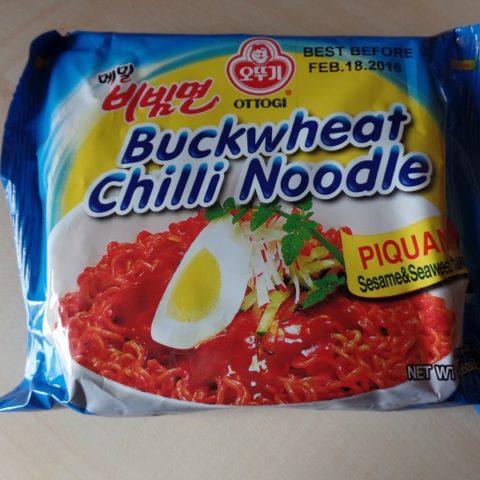 """#763: Ottogi """"Buckwheat Chilli Noodle"""""""