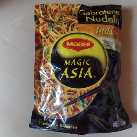 "#767: Maggi Magic Asia ""Gebratene Nudeln India"""