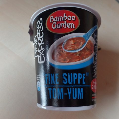 "#768: Bamboo Garden Asia Express ""Fixe Suppe Tom-Yum"""