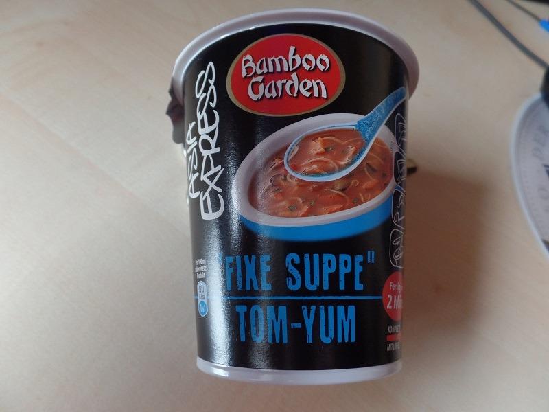 "#768: Bamboo Garden Asia Express ""Fixe Suppe Tom-Yum"""