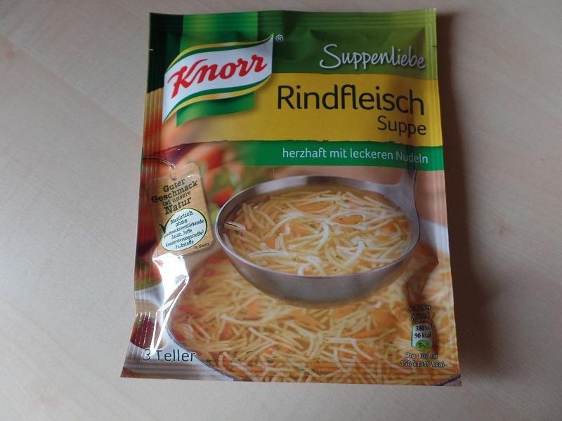 """#773: Knorr Suppenliebe """"Rindfleisch Suppe"""""""