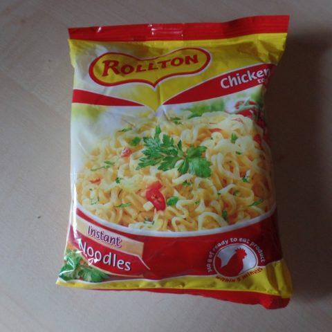 """#778: Rollton Instant Noodles """"Chicken Taste"""""""