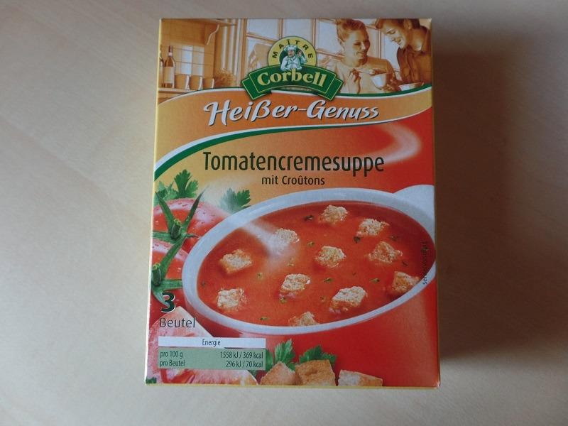 "#784: Maitre Corbell Heißer-Genuss ""Tomatencremesuppe"""