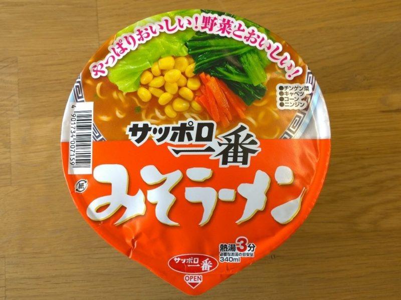 Sapporo Ichiban_Miso Ramen_Bild 1