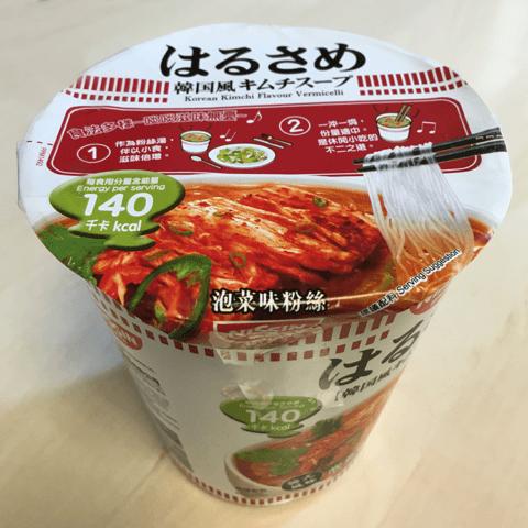 "#801: Nissin ""Korean Kimchi Flavour Vermicelli"""