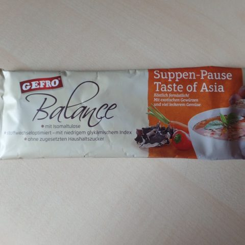 """#788: Gefro Balance """"Suppen-Pause Taste of Asia"""""""