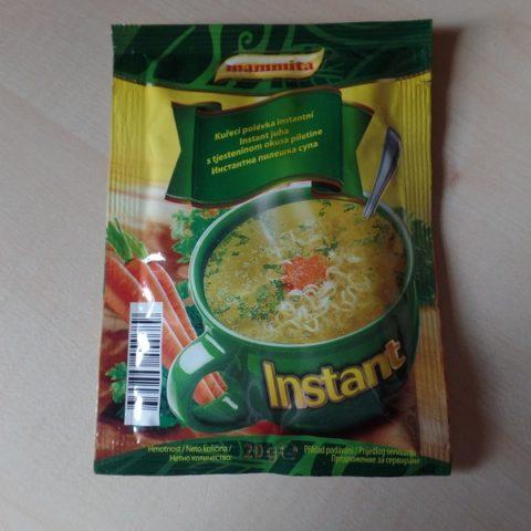 "#793: mammita ""Instant juha s tjesteninom okusa piletine"""