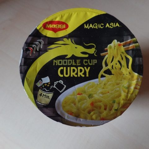 "#797: Maggi Magic Asia ""Noodle Cup Curry"" (Update 2021)"