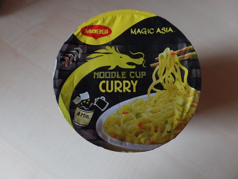 "#797: Maggi Magic Asia ""Noodle Cup Curry"" (Update 2021)"
