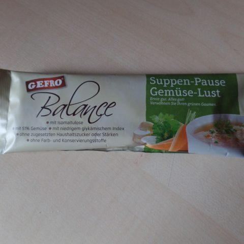 """#798: Gefro Balance """"Suppen-Pause Gemüse-Lust"""""""