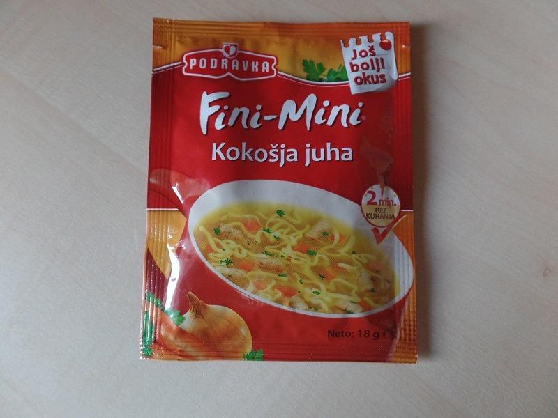 """#807: Podravka Fini-Mini """"Kokošja juha"""""""