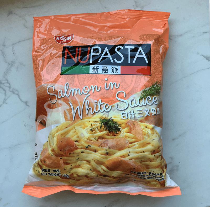 "#806: Nissin Nupasta ""Salmon in White Sauce"""