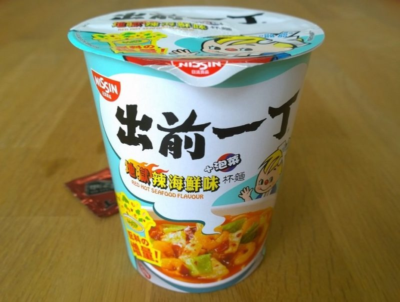 """#819: Nissin """"Demae Itcho Red Hot Seafood (Cup)"""""""