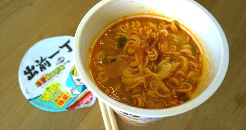 Nissin_Demae Itcho Red Hot Seafood_Bild 3