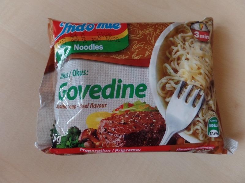 "#605: Indomie ""Beef Flavour Instant Noodle Soup"" (Arabische Version)"
