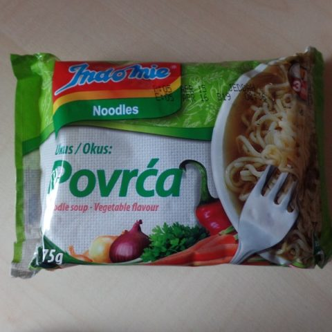 "#830: Indomie Noodles ""Povrća"" (Vegetable Flavour)"